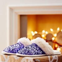 Sparkle Sequin Slippers, Purple