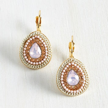 Statement Come Out on Drop Earrings by ModCloth