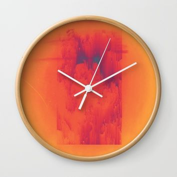 Body Heat Wall Clock by DuckyB