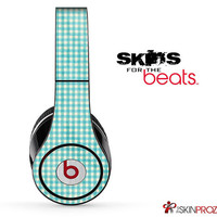 Green Plaid Skin For The Beats by Dre Studio, Solo, Pro, Mix-R or Wireless