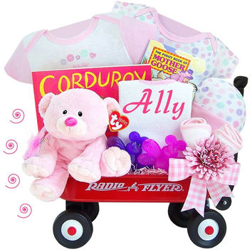 Thank Heaven For Little Girls Radio Flyer Wagon Gift Set