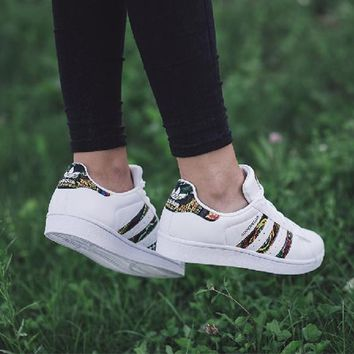 """Adidas"" Superstar Shell toe Casual Sneakers - BB0686"