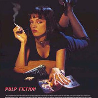Pulp Fiction Film Review Poster 24x36