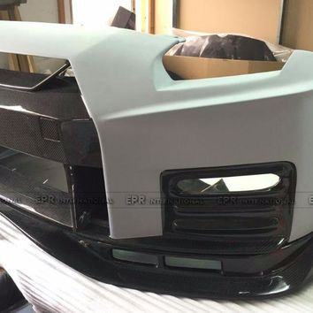 Portion Carbon Fiber 2017 Nismo Style Body Kit Fiberglass Full Bodykit Fit For Nissan R35 GTR 08-16 CBA/DBA Car-Styling