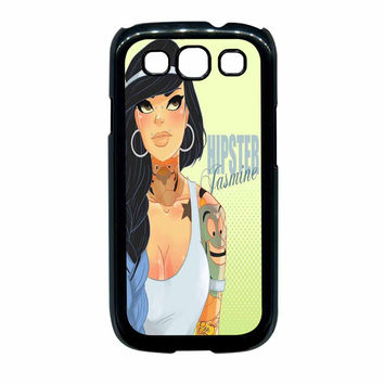 Hipster Jasmine Disney Princess Samsung Galaxy S3 Case