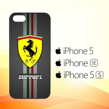 Ferrari Logo X4576  iPhone 5|5S|SE Case