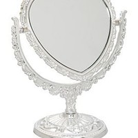 Heart-Shaped Table Mirror - 550031