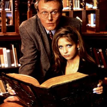 Buffy The Vampire Slayer Cast Poster Giles Buffy Library 24inx36in