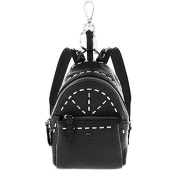 Fendi Women's Roman Charm Backpack Black