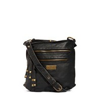 River Island Black Mini Messenger Bag at asos.com