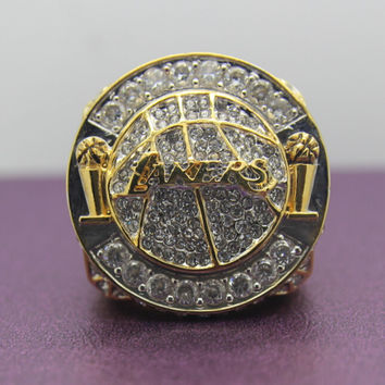Los Angeles Lakers Basketball Championship Replica Ring 2010