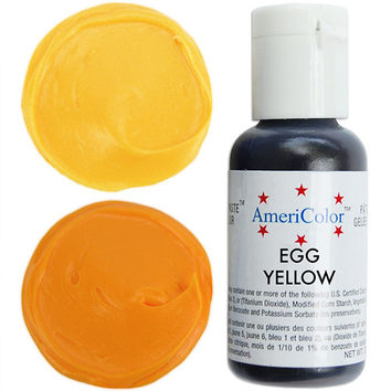 Egg Yellow Gel Paste Food Coloring