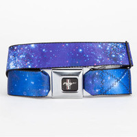 Buckle-Down Honda Galaxy Buckle Belt Space Blue One Size For Men 23311927201