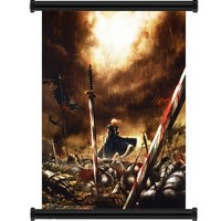 "Fate Stay Night / Fate Zero Anime Fabric Wall Scroll Poster (16"" x 23"") Inches"