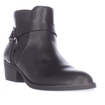 Kenneth Cole Dolla Bill Ankle Boots, Black, 6 US / 36 EU