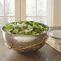 Birch Lane Brass Stem Salad Bowl & Reviews | Wayfair