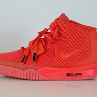 BC SPBEST Nike Air Yeezy II NRG Red October Red 508214-660 size 10.5