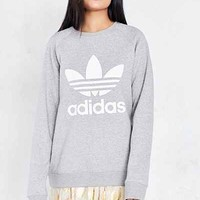 adidas Originals Trefoil Pullover Sweatshirt - Urban Outfitters