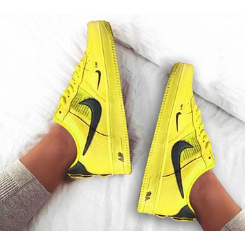 Nike Air Force 1 Low men's and women's simple versatile non-slip flat sports shoes