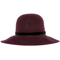 The Karmaloop x Kangol Exclusive Lite Felt Diva Hat in Mulberry