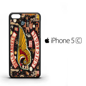 Hells Angels F0748 iPhone 5C Case