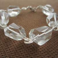 Rocks - Crystal Quartz Bracelet