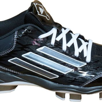 Adidas Performance Women's Power Alley 2 TPU Softball Cleat~ Black/Carbon/White