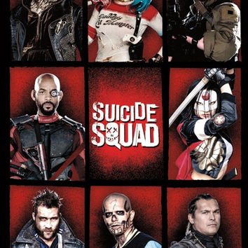 Suicide Squad - Grid Movie Poster 22x34 RP14082 UPC882663040827