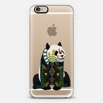 love heart panda transparent iPhone 6s case by Sharon Turner   Casetify