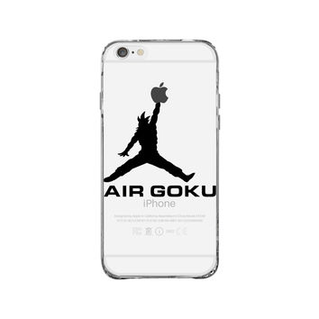 Dragon Ball Z Air Goku iPhone 6 Clear Case
