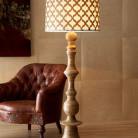 Jamie Young Natural Floor Lamp
