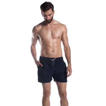 Capitan The Polk Dots Trunks Black