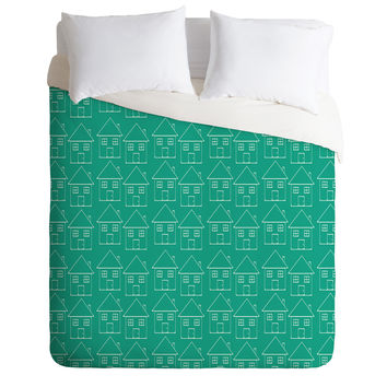 Allyson Johnson Welcome Home Duvet Cover
