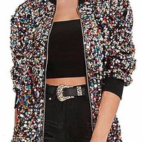 Colorful Sequin Jacket