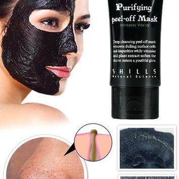 Black Mud Face Mask Blackhead Remover Deep Cleansing Peel Acne = 5987775873