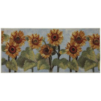 Mohawk Home Summer Sunflower Kitchen Rug - 20'' x 45''