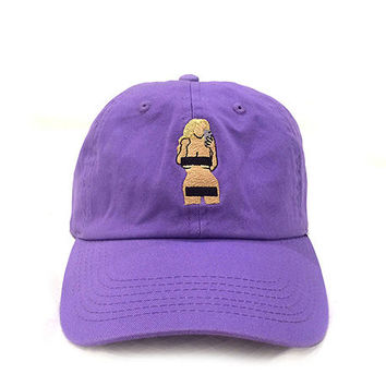 Nothing To Wear Cap in Light Purple