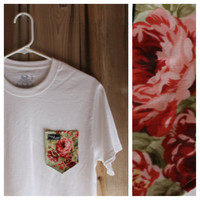 Garden Rose Paige's Pocket Tee