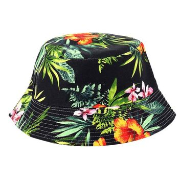 Trendzone 5/22 Adjustable Cap Flower Print Boonie Hats Nepalese Cap Army Mens Fisherman Hat Free Shipping
