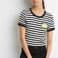 Striped Burger Tee