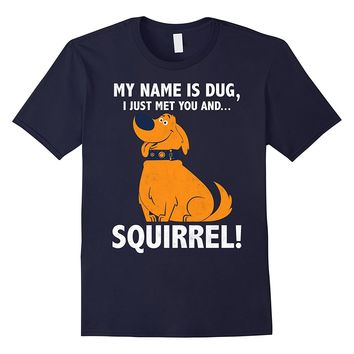 Disney Up My Name is Dug Squirrel Graphic T-Shirt