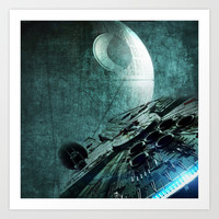 "Star Wars ""Millennium Falcon"" Art Print by Nostromo"