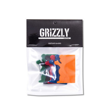 Grizzly Grip Tape Blades With Logo Multi Colored
