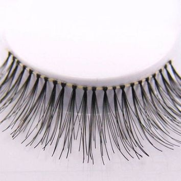 Hot Sale New Arrivals 5 Pairs Natural Sparse Cross Eye Lashes Extension Makeup Long False Eyelashes Beauty Accessories
