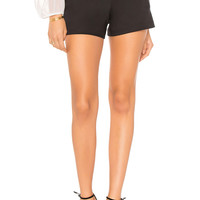 Alice + Olivia Cady Short in Black