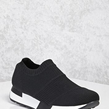 Textured Slip-On Sneakers
