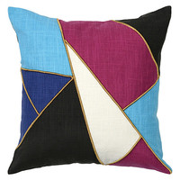 Black & Blue Bowie Pillow