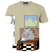 Fluffy Snorting Tee