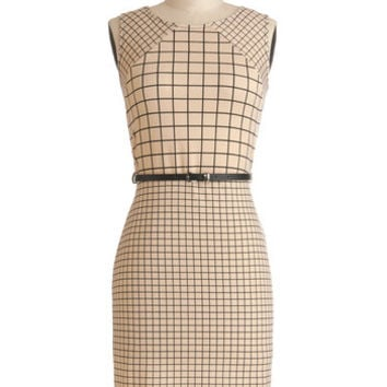 Flair and Square Dress