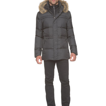 Marc New York - Tundra - Down Parka w. Fleece Bib + Faux Fur Hood